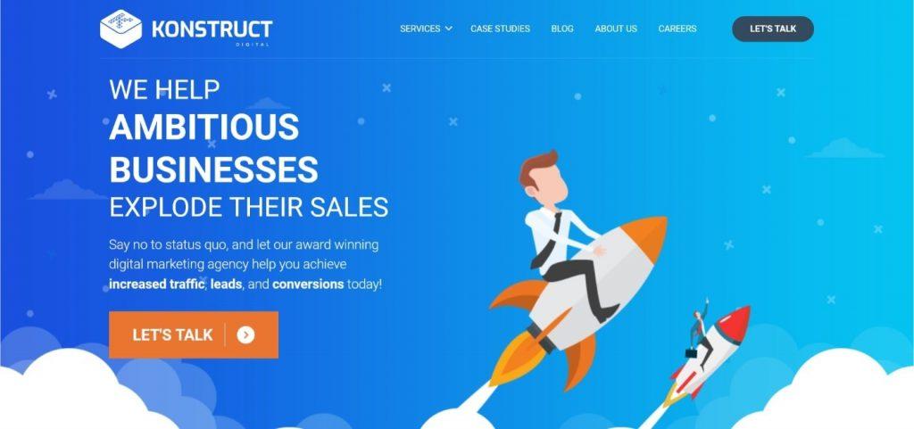 Konstruct shopify service