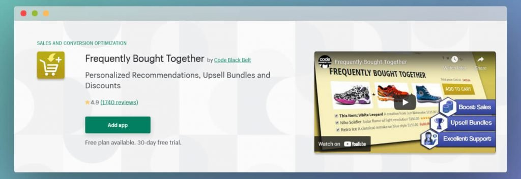 frequently bought together Shopify image